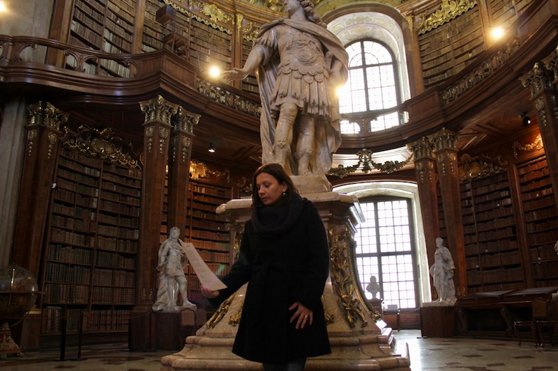Austriacka Biblioteka Narodowa w Pałacu Hofburg
