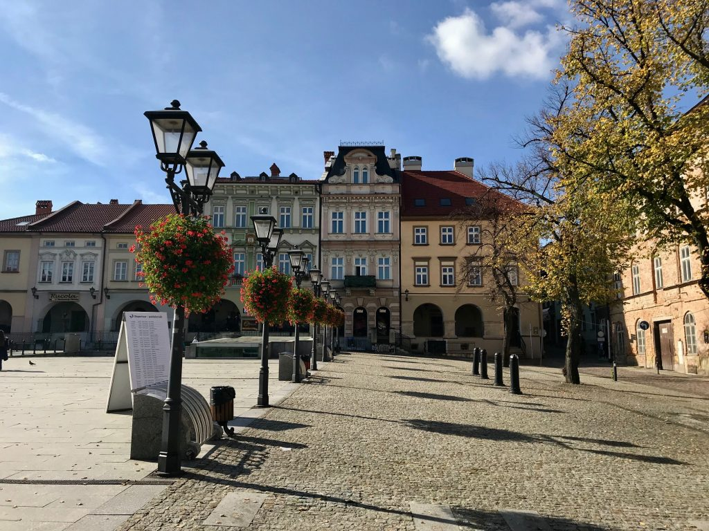 Jesień w Bielsku-Białej